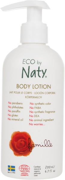 Органический лосьон для всей семьи Eco by Naty 200 мл