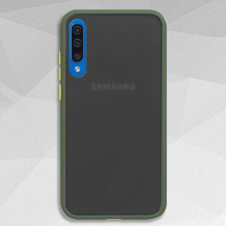 Чехол Buttons Shield для Samsung Galaxy A51 цвет Зелёный