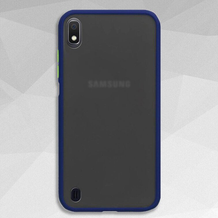 Чехол Buttons Shield для Samsung Galaxy A10 цвет Синий