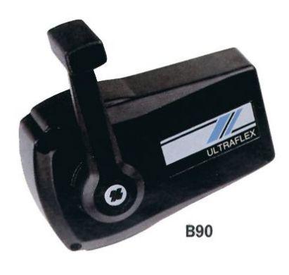 Блок ДУ с одной рукояткой. B90. Черный. Ultraflex. Корпус - металл. Вес 2 кг.