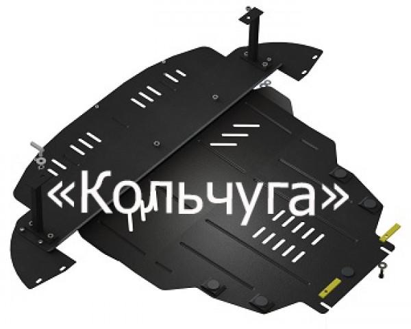 Защита раздатки и заднего моста Porsche Cayenne (2007-2010)
