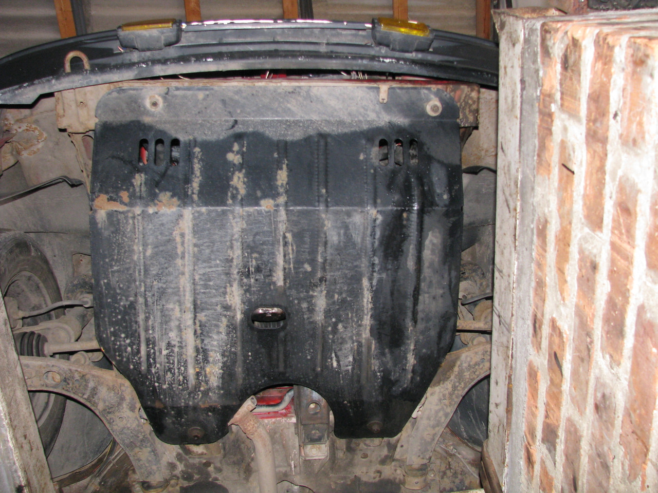 Защита двигателя и КПП OPEL KADETT (1984-1991)