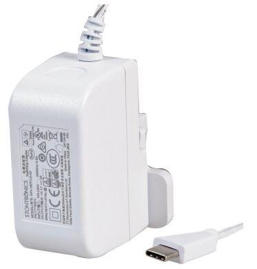 Блок питания для Raspberry Pi USB-C, белый