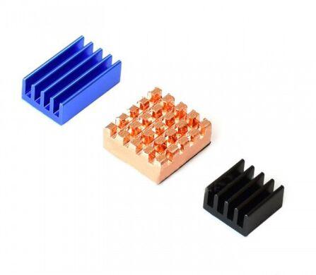 Набор радиаторов для Raspberry Pi, разноцветных (17790)