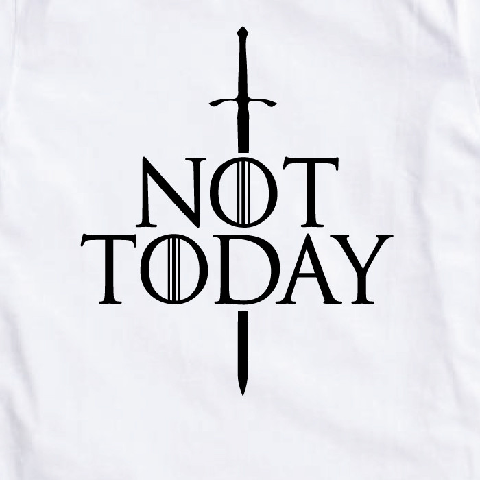 "Футболка GoT ""Not today"" женская"