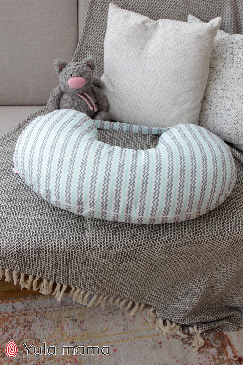 Подушка для кормления зиг-заг NUR.1.1.10 б/р