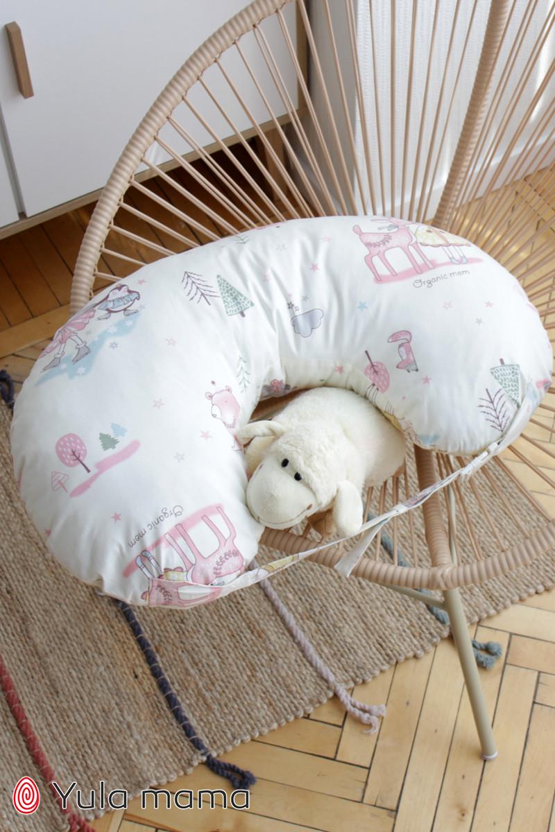 Подушка для кормления девочка молочный NUR.1.1.11 б/р