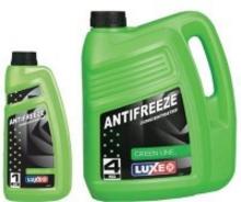 675 Luxe Антифриз luxe long life (зеленый) концентрат 1кг