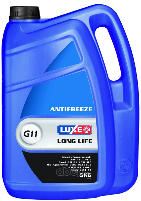 664 Luxe Антифриз luxe -40 long life (синий) 5кг