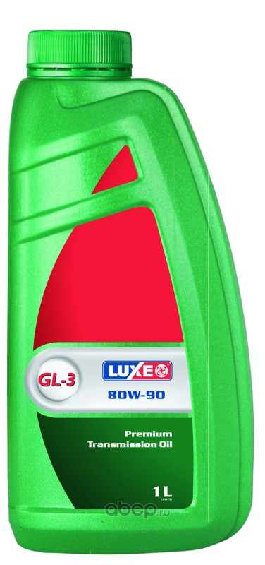 547 Luxe Масло трансмисс. luxe стандарт 80w-90 gl-3 (канистра 1л)