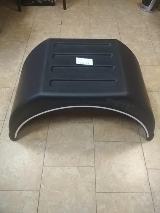 Крыло универсальное пластиковое с плоским верхом 50*160