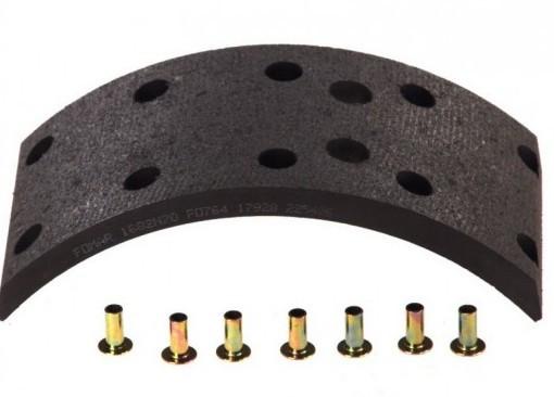 Тормозные накладки Mersedes 304x120, 11,9 мм 1 ремонт