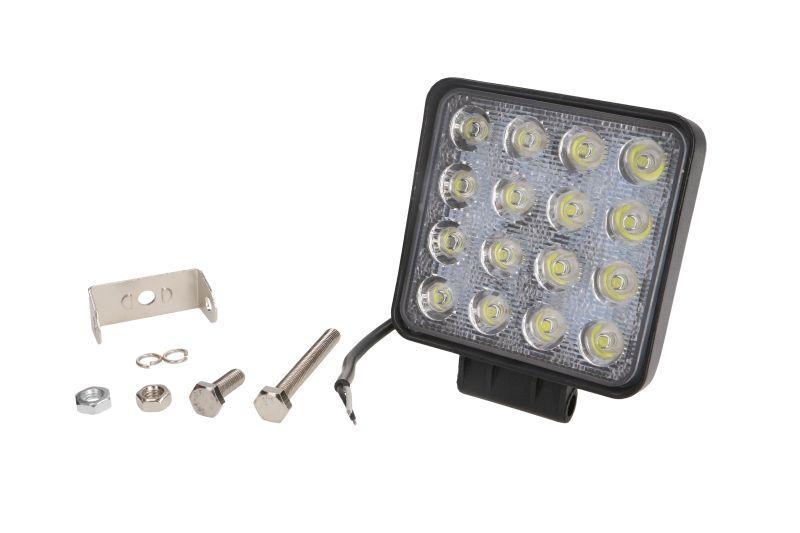 Фара/прожектор рабочей зоны (LED/10/30В/48Вт/3300лм/кількість LED діодів 16/110ммx110ммx72мм/розсіяне світло)