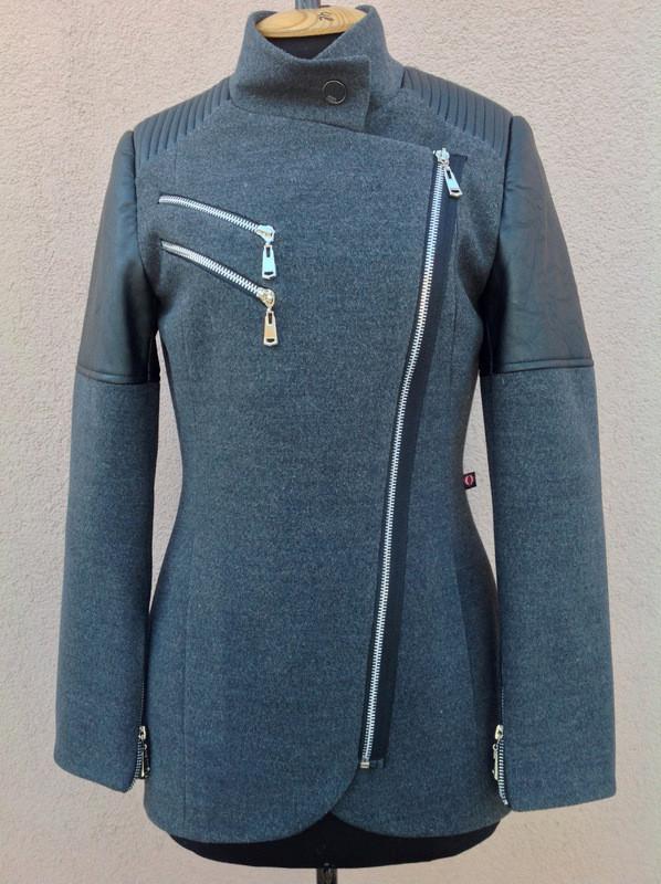 Кашемировое пальто без капюшона для девушки