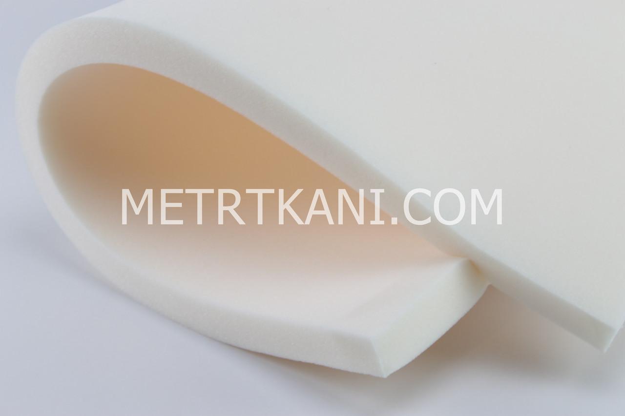 Поролон ( с кремовым оттенком) 3 см 80*40 см. ПБ-03