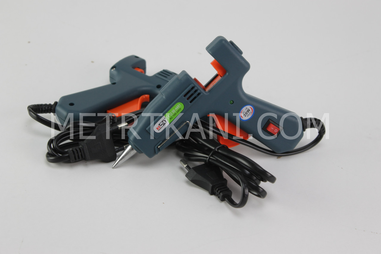 Пистолет клеевой ПК-7 цвет графит