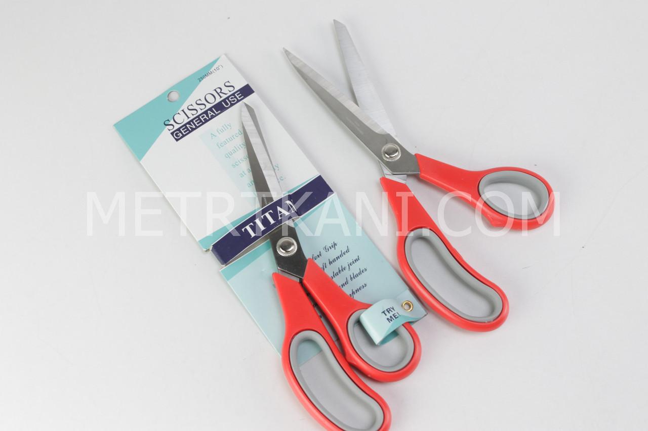 Ножницы закройщика с пластиковыми прорезиненными ручками НЗ-250