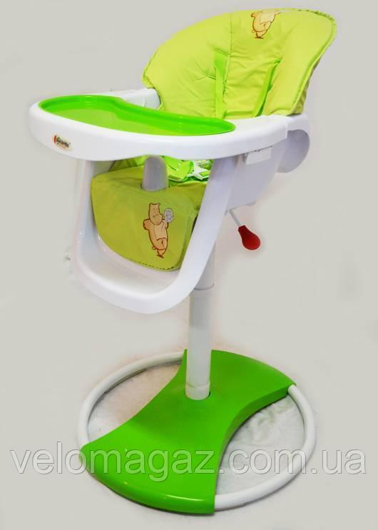 Детский стульчик для кормления Dolchemio CH-71 салатовый