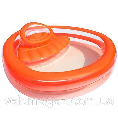 Надувной бассейн для детей - Bestway 54158 с сиденьем