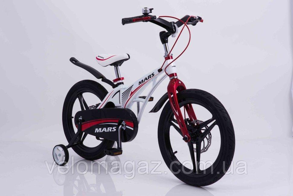 """Детский велосипед SIGMA MARS-18"""" White"""