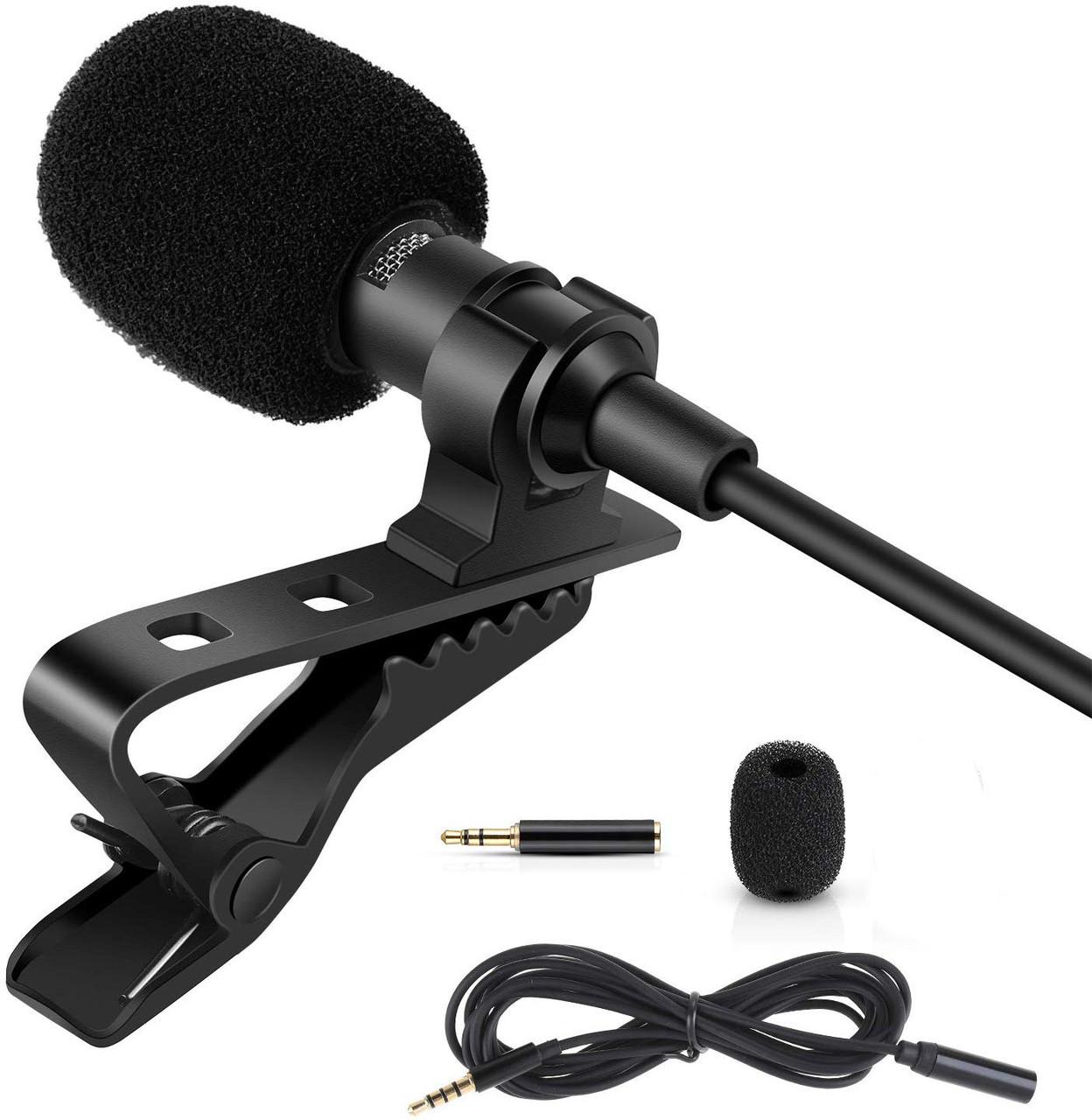 Профессиональный петличный микрофон ZL06 (для камер, смартфонов, планшетов, ноутбуков, ПК)
