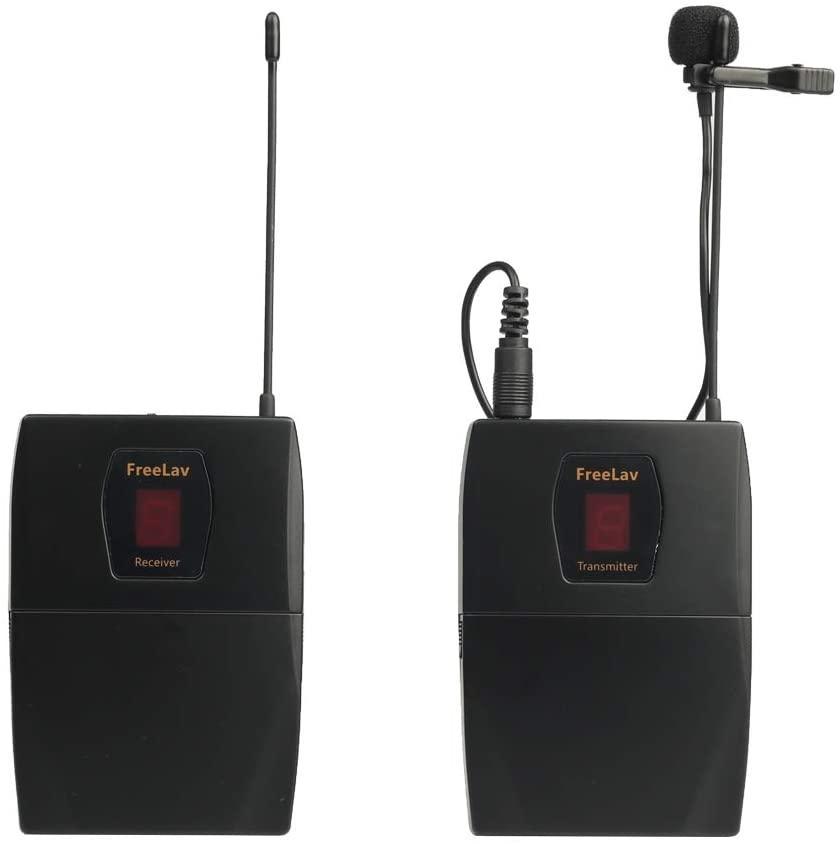 Беспроводной петличный радиомикрофон, радиопетличка FREELAV для камер и телефонов