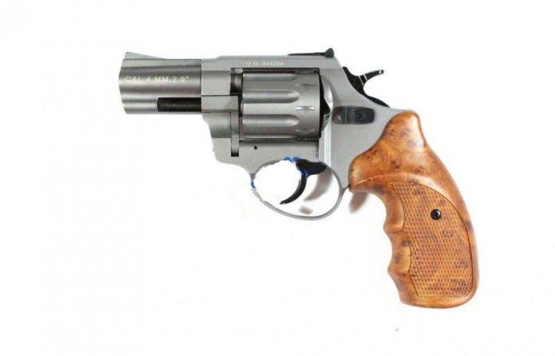Револьвер под патрон флобера Stalker 2,5 Titanium (рукоятка под дерево)