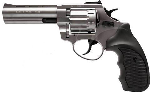 Револьвер под патрон флобера Stalker 4,5 Titanium Black (черная ручка)