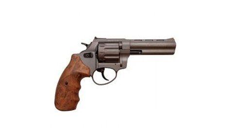 Револьвер под патрон флобера Stalker 4,5 Titanium Wood