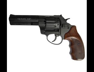 """Револьвер под патрон Флобера Stalker 4.5"""" """"Wood"""" (стальной барабан)"""
