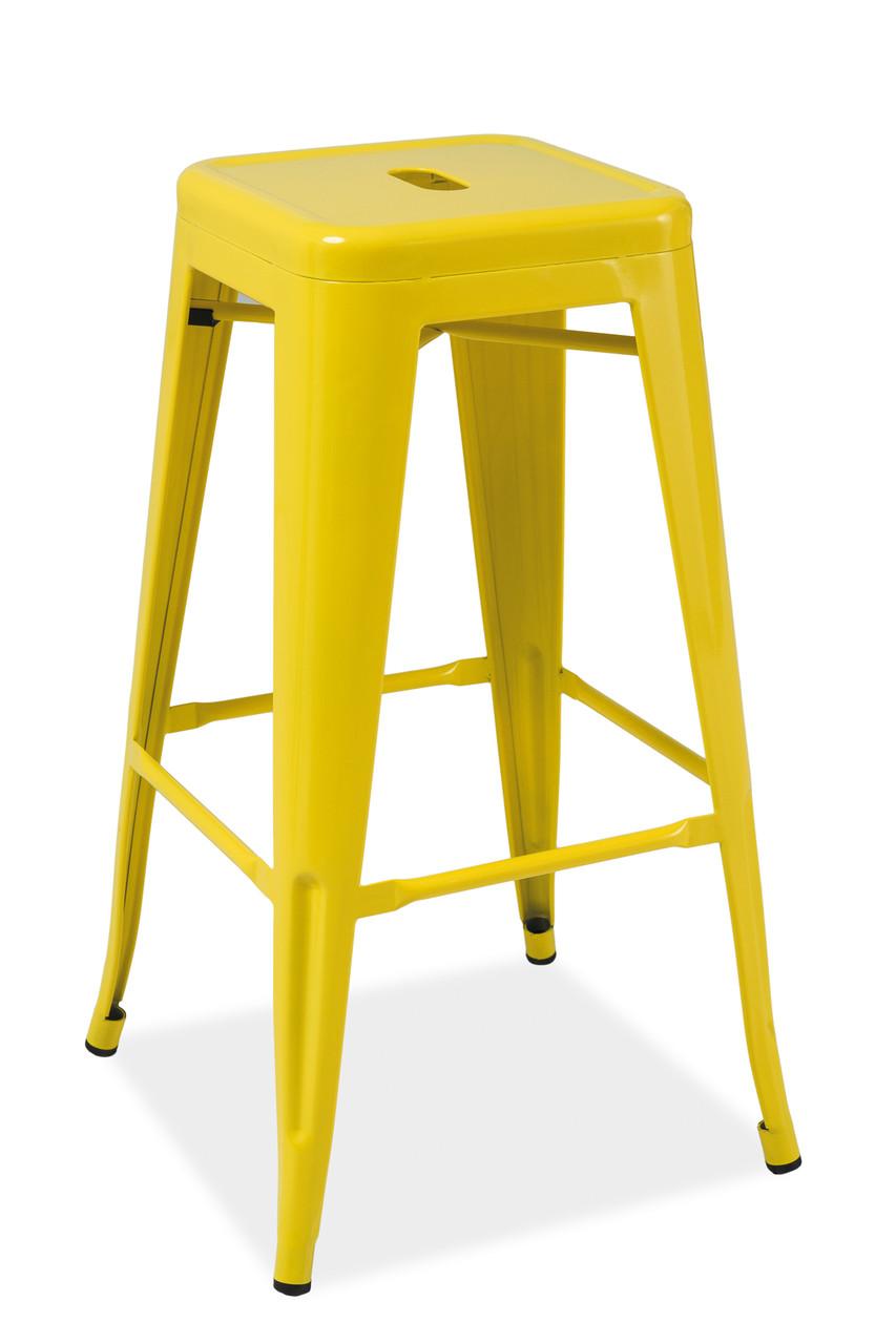 Барный cтул Signal Long желтый