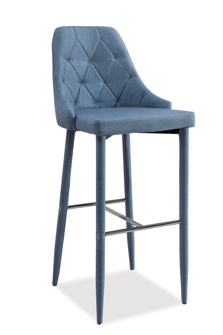 Барный стул Signal Trix H-1 синий denim