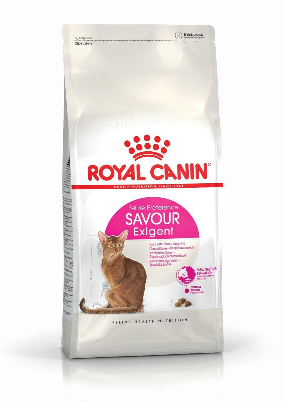 Сухой корм Royal Canin Exigent Savour Sensation для кошек привередливых к вкусовым качествам,10 кг.