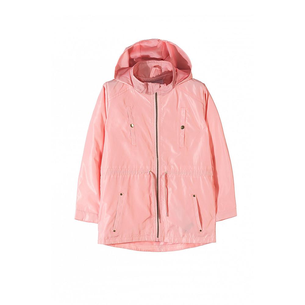Куртка-вітрівка для дівчинки 4-7 років, 5.10.15, демісезон, рожева
