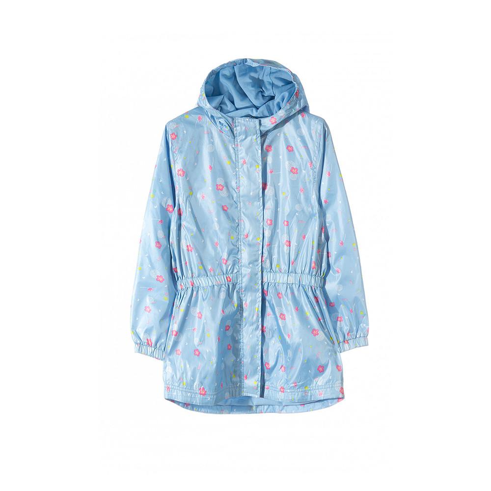 Куртка-вітрівка для дівчинки 3-5 років, 5.10.15, блакитна