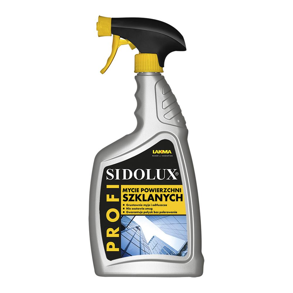 Засіб для скляних поверхонь Sidolux Profi, 0.75 л