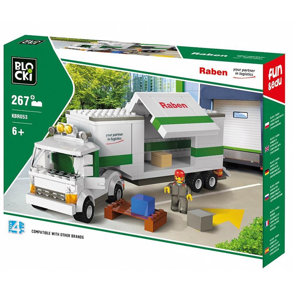 Конструктор Blocki RABEN Вантажівка, 267 деталей