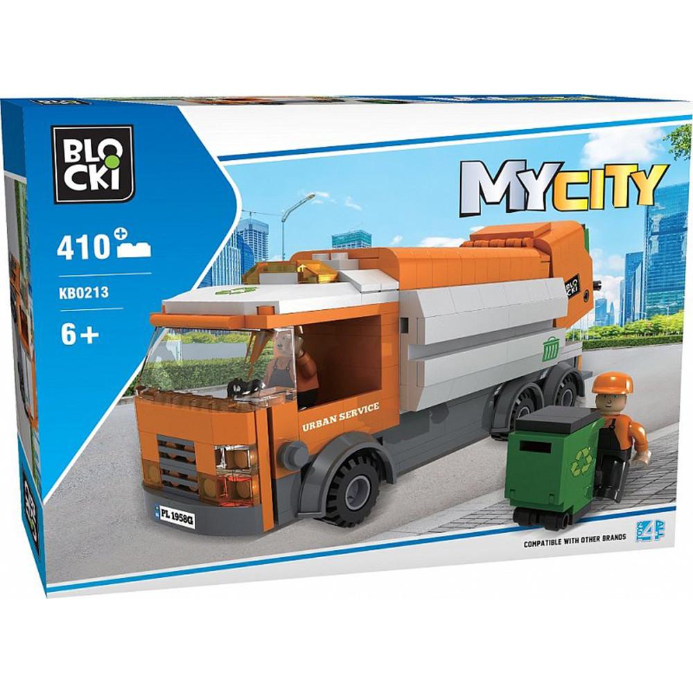 Конструктор Blocki MyCity Сміттєвоз, 410 деталей