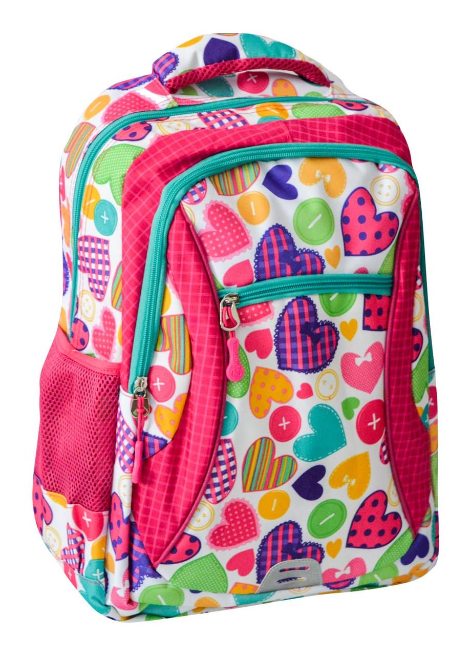 Рюкзак шкільний Navigator Серце, 42*26*14 см