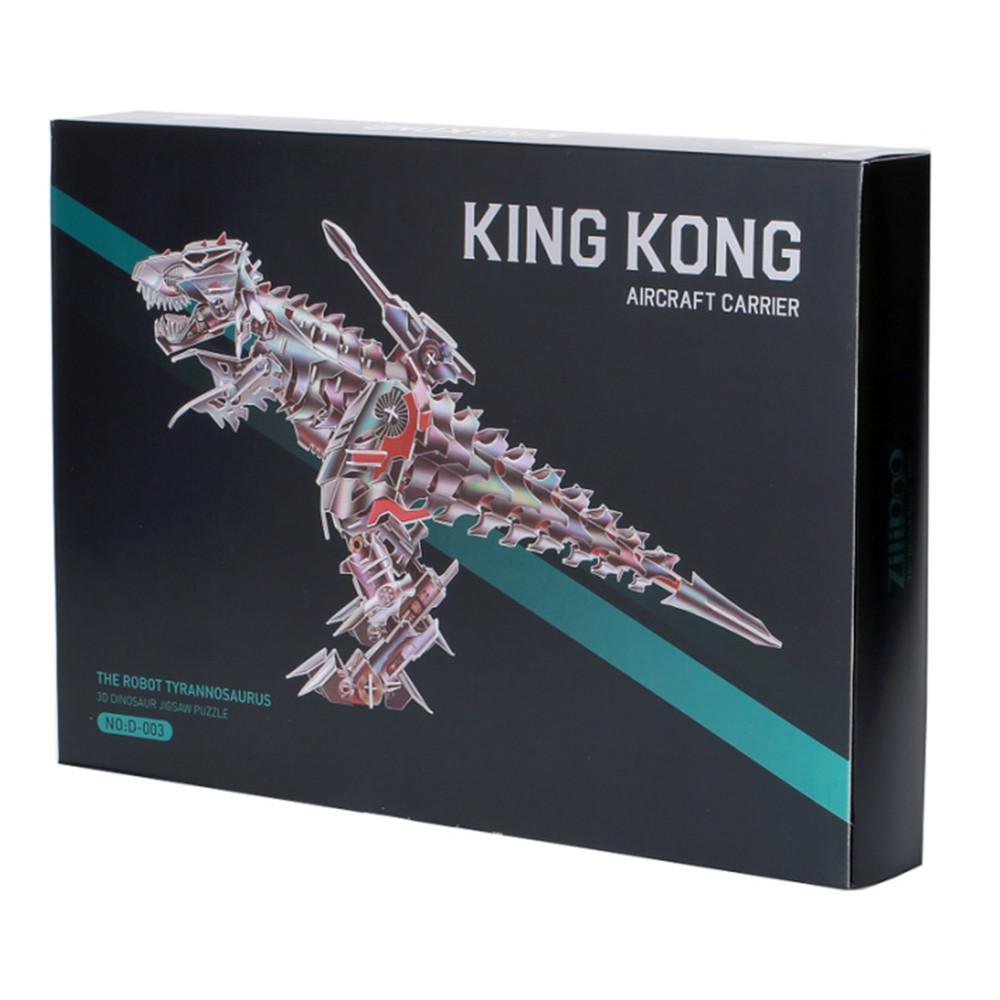 3D-пазл, еко-конструктор King Kong Тиранозавр, 171 деталь