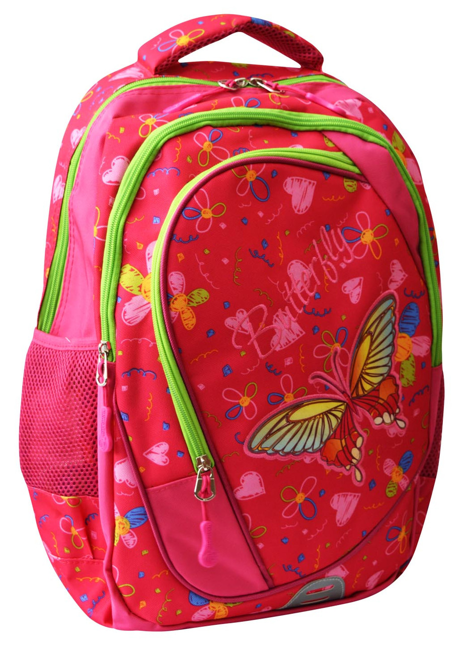 Рюкзак шкільний із метеликом Navigator, 42*26*14 см