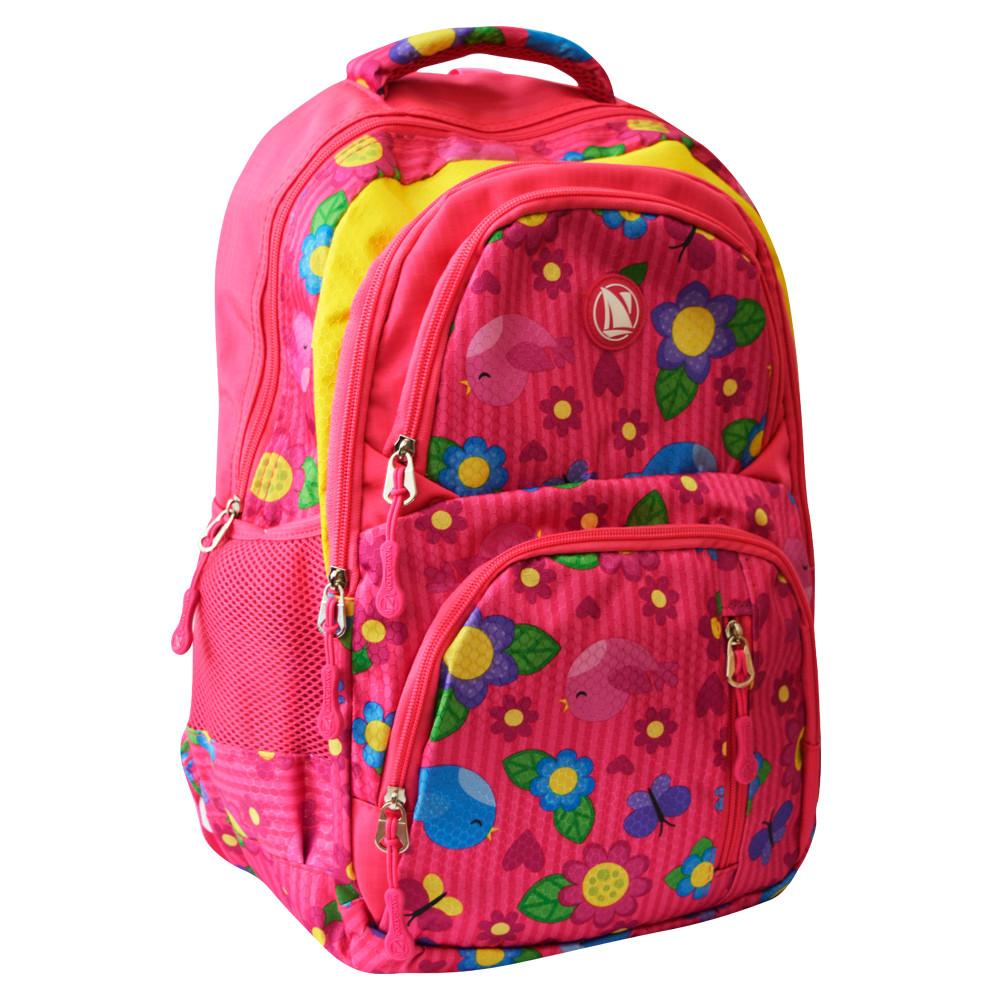 Рюкзак шкільний Navigator Квіточки, 42*26*14 см