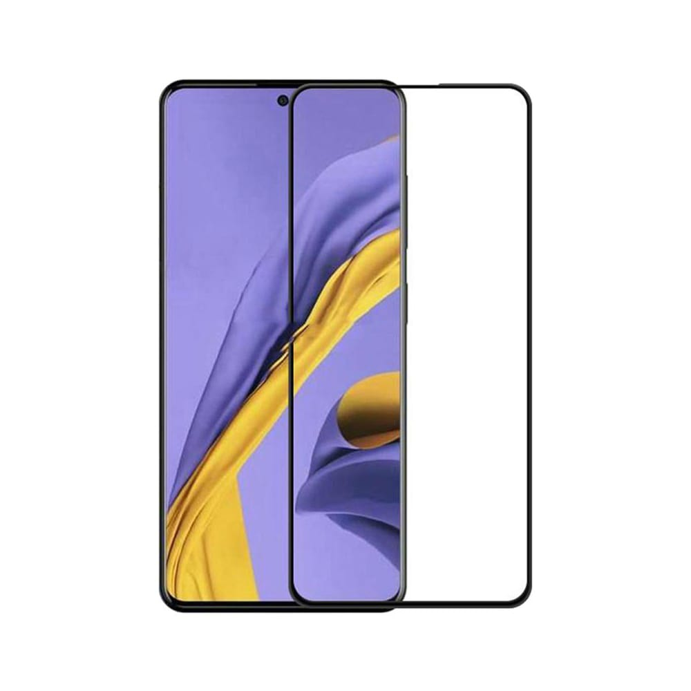 Защитное стекло для Samsung Galaxy Note 10 Lite Full Glue с рамкой