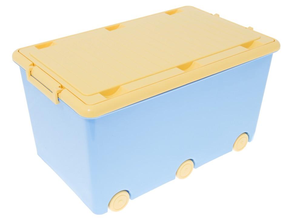 Ящик для игрушек Tega Hamster IK-008 126 blue
