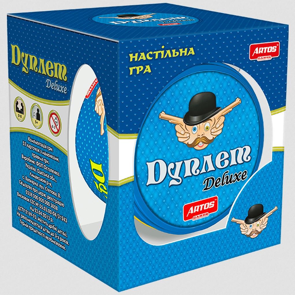 """Настольная игра """"Дуплет Deluxe"""" Artos Games (5+, 2-8 чел., рус.)"""