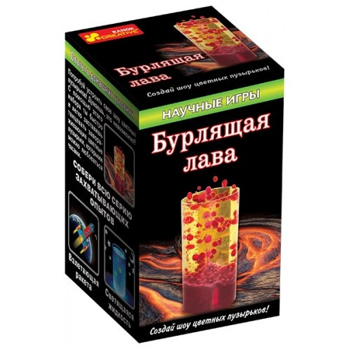 "Научная игра ""Бурлящая лава"" Ranok Creative (8+, рус.)"
