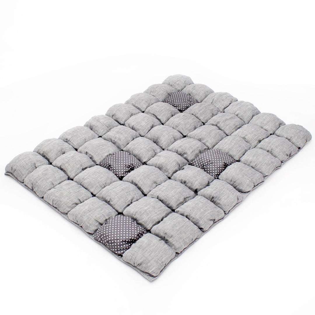 Детское одеяло для малышей 0-2 года, 120х85, серый