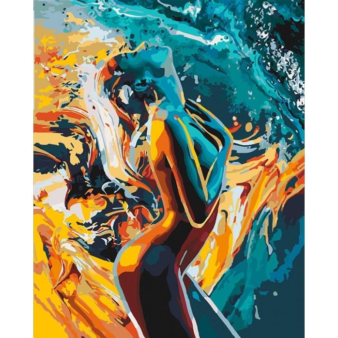 """Картина по номерам """"Страсть женщины"""", Идейка, 40х50"""