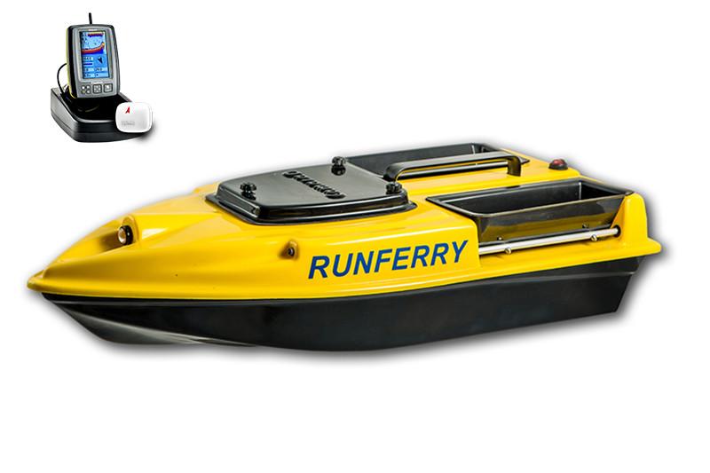 Карповый кораблик Camarad V3 + Toslon TF500 Yellow