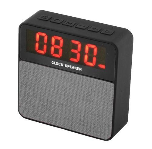 Bluetooth-колонка JBL T1, c функцией PowerBank, часы, speakerphone, радио